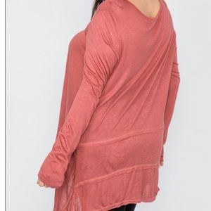 Chic Nation Tops - Hi-low, tunic top womens